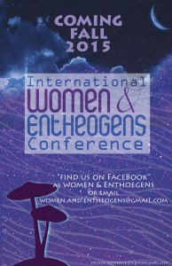 women and entheogens poster